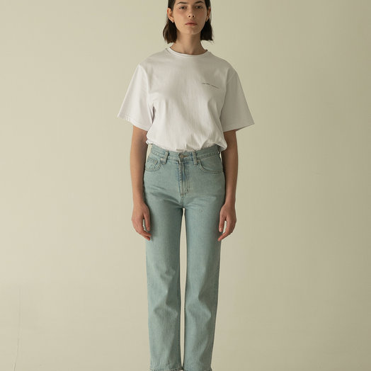 Amomento Regular Denim, Light Blue