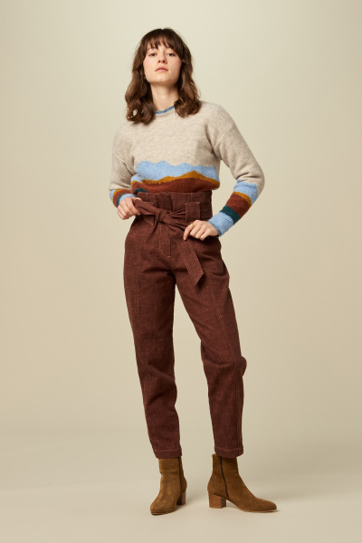 Sessun Grand View Landscape Sweater