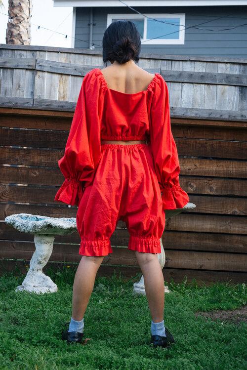 3234u Selena Top, red