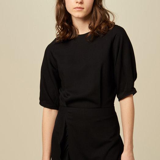 Sessun Patty Dress, Black