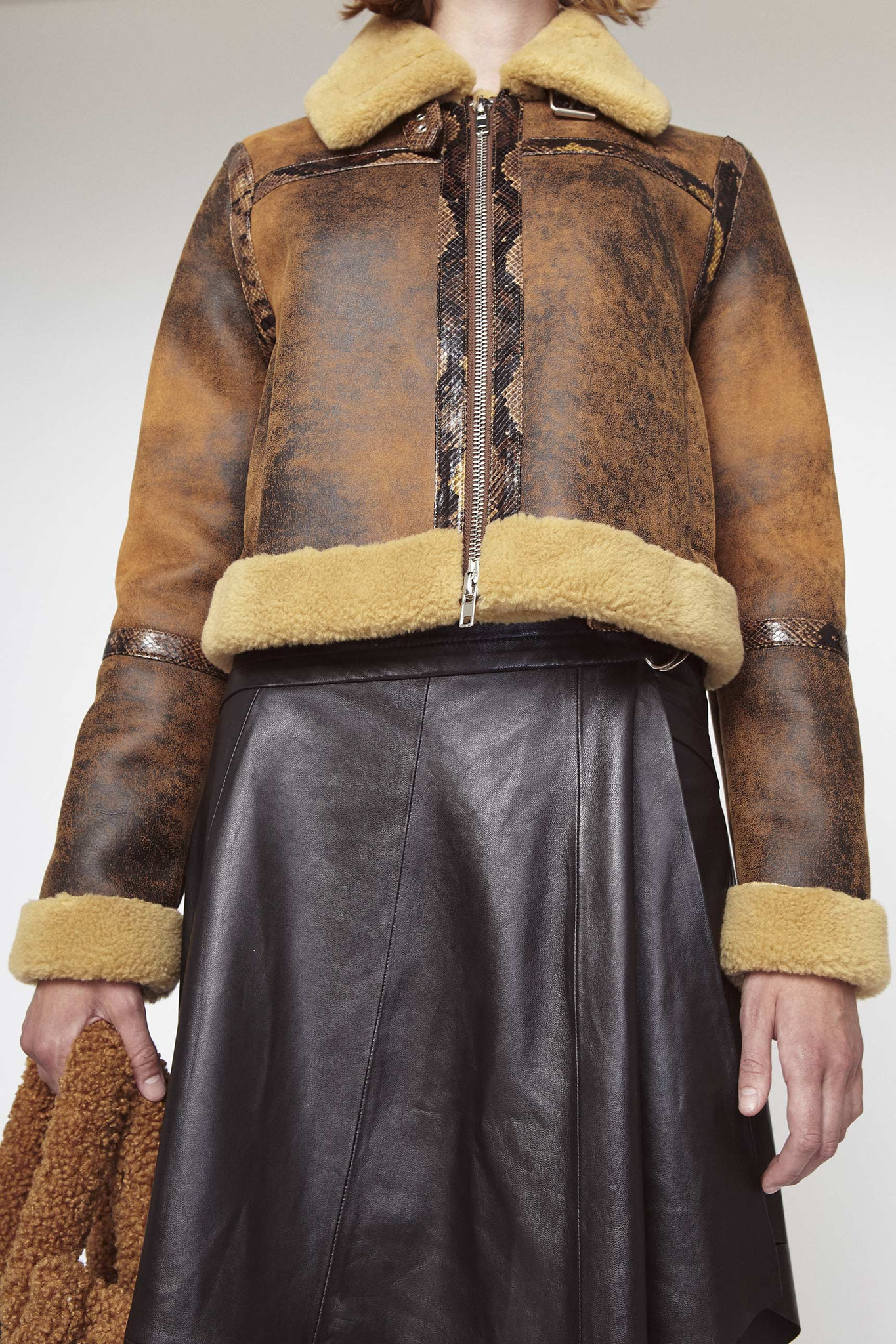 Stand Lorelle Jacket, Brown and Camel