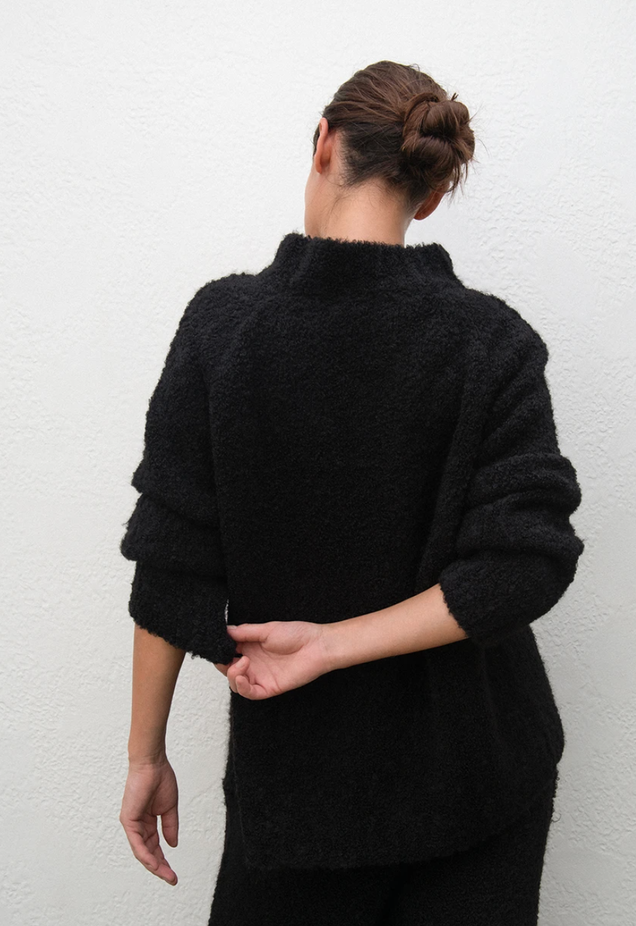 Wol Hide Lounge Pullover, Onyx