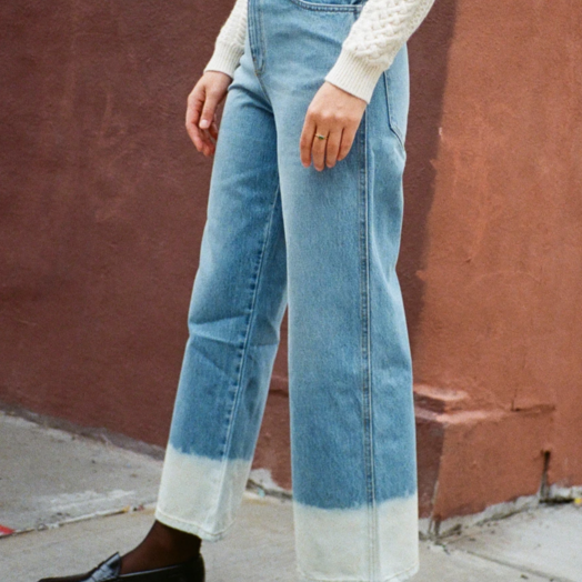 Sandy Liang Paw Jeans