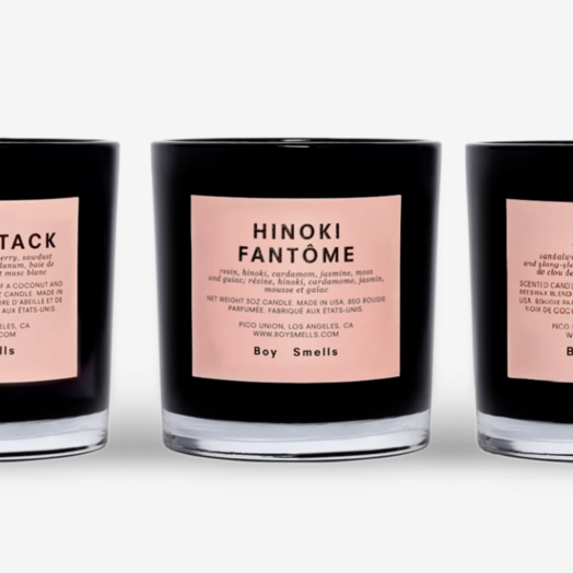 Boy Smells Boy Smells Trio Votive Set (3 × 3oz votives) — Hinoki Fantome + Cedar Stack + St. Al