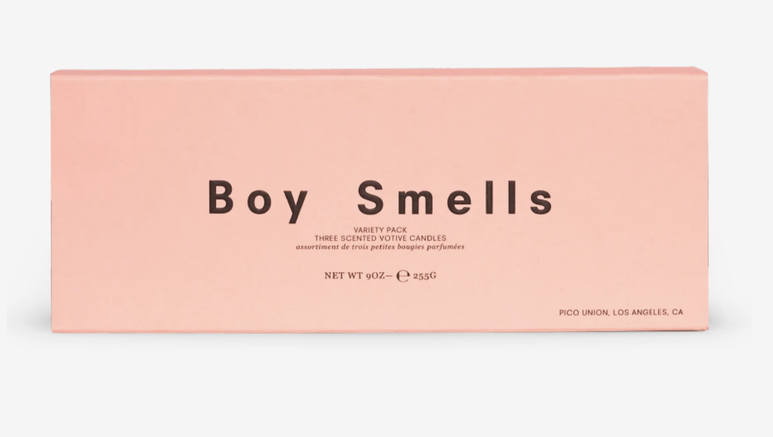 Boy Smells Boy Smells Trio Votive Set (3 × 3oz votives) — Les + Petal + Lanai
