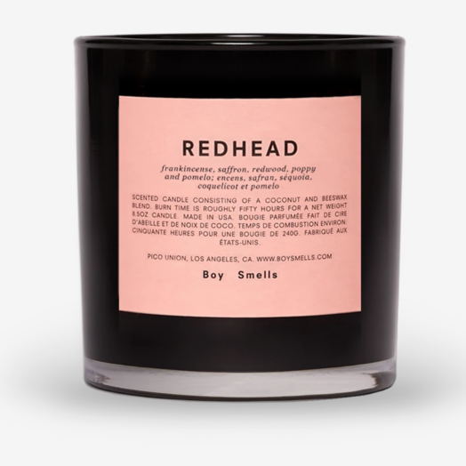 Boy Smells Redhead Candle Boy Smells 8.5 oz Candle