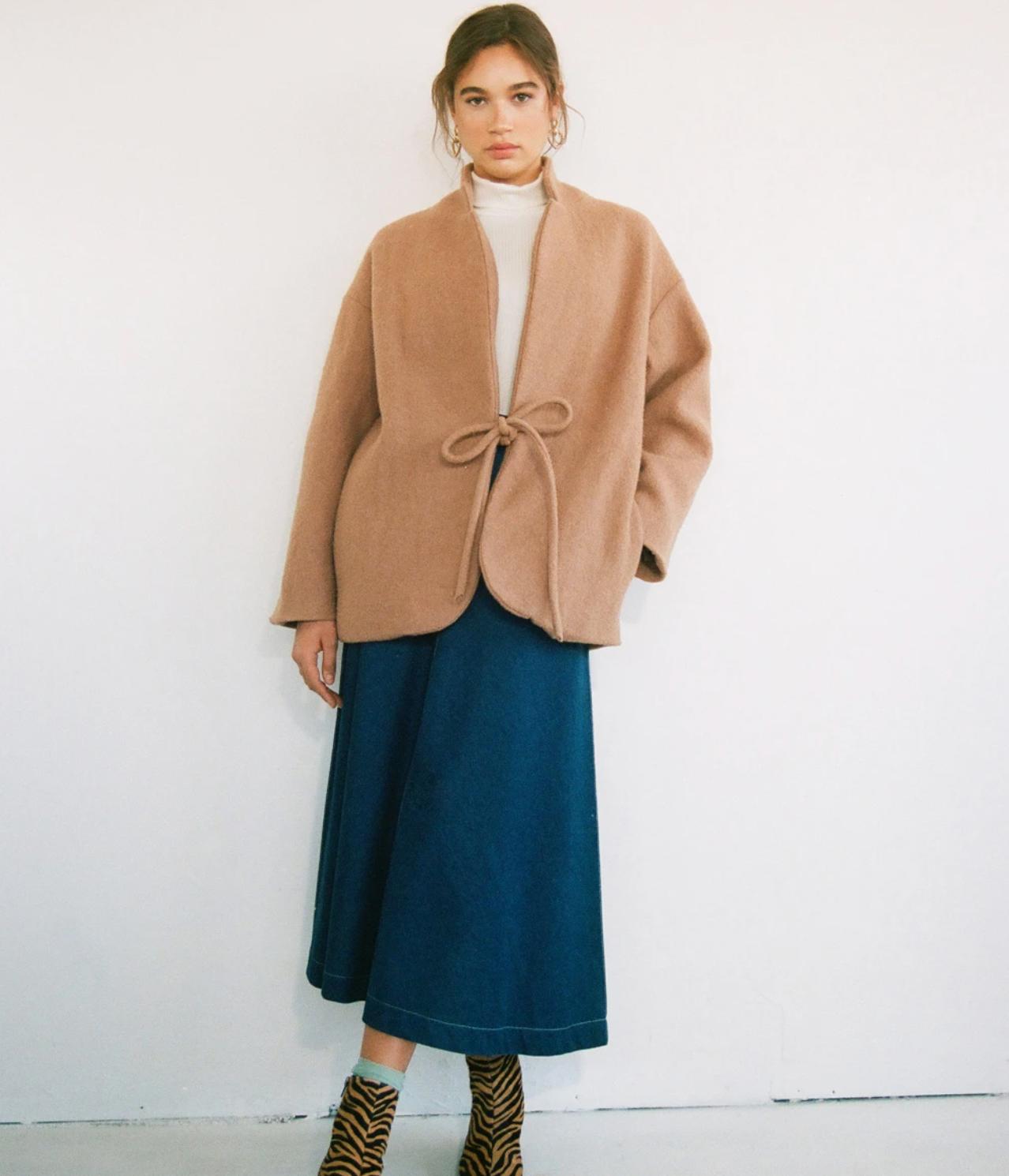 Eliza Faulkner Mara Coat