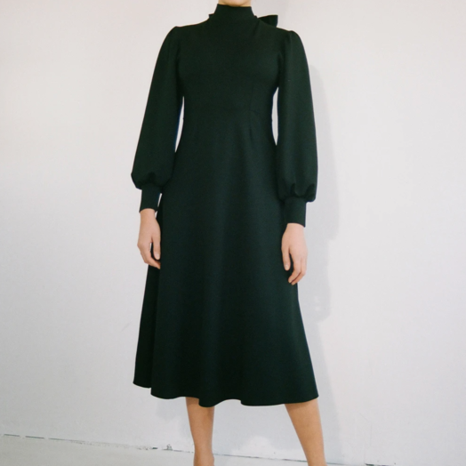 Eliza Faulkner Louise Dress, Black