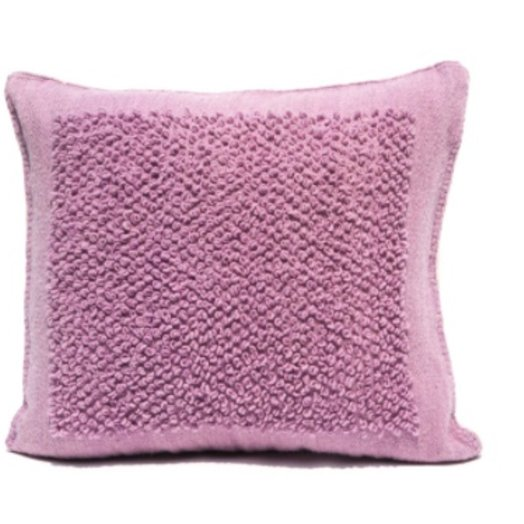 Mexchic X-large Floor Pillow in Boucle Cotorin Texture Lilac Wool
