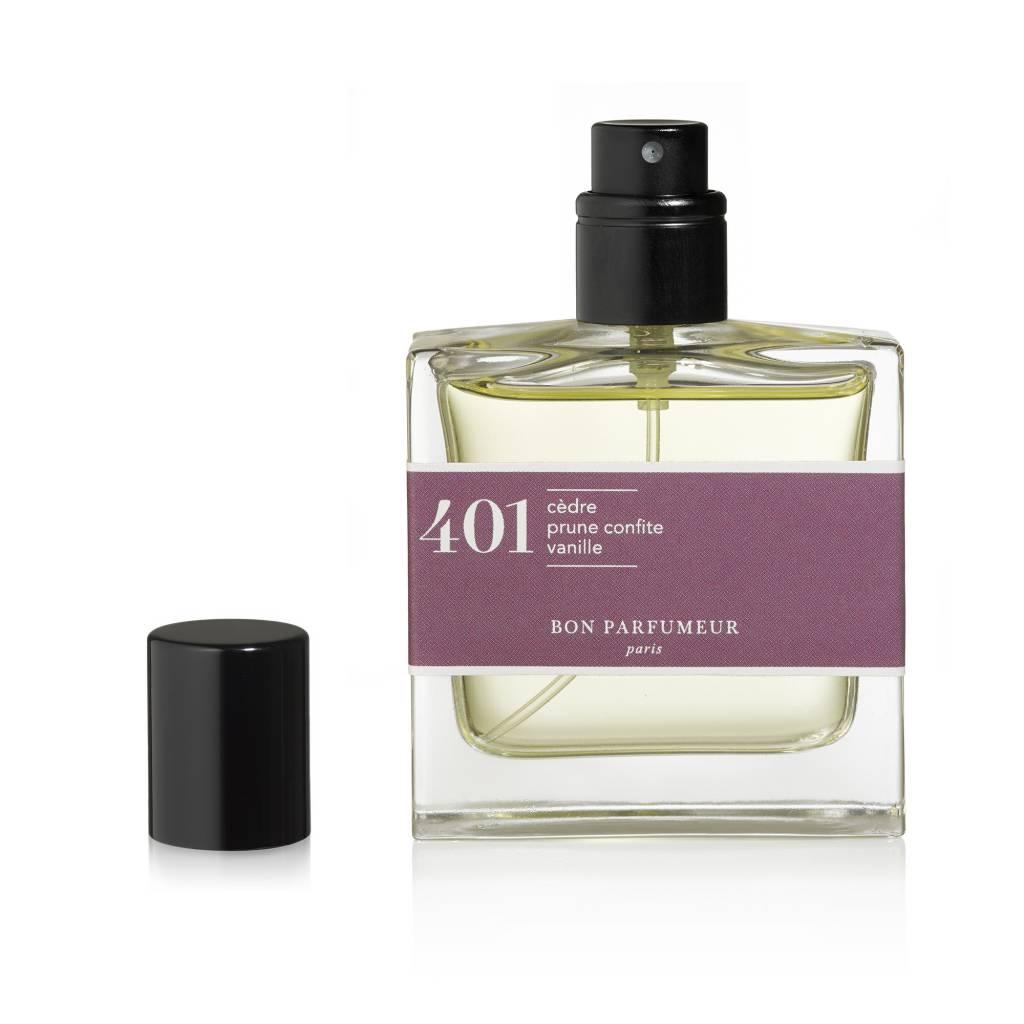 Bon Parfumeur 401 Cedar, Candied Plum, Vanilla Eau de Parfum