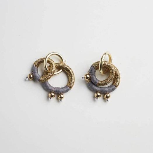 Pichulik Gravity Gold Earrings