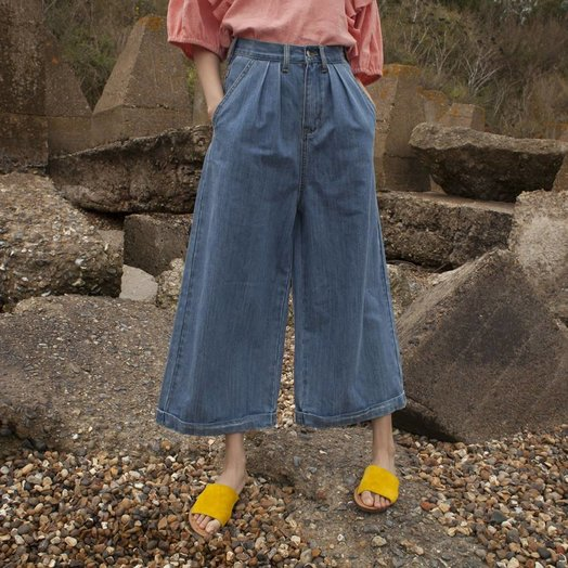 LF Markey Pleat Front Jeans