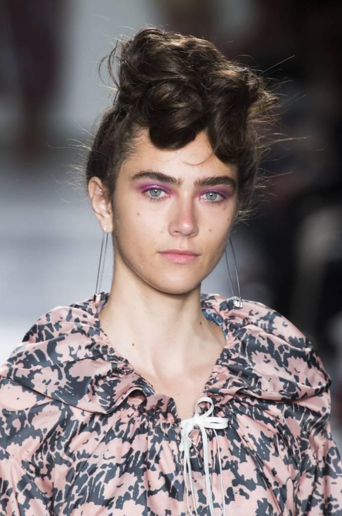 A Détacher Jasper Jacket, Runny Mascara Print