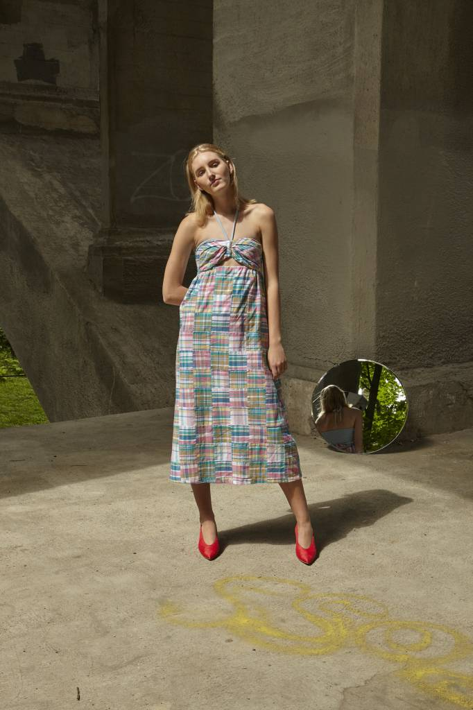 Petersyn Athena Madras Dress