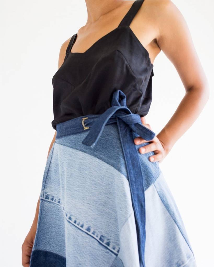 Studio LA Gabby Patchwork Skirt