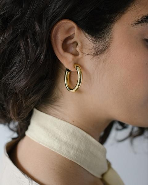 Laura Lombardi Mini Curve Earrings
