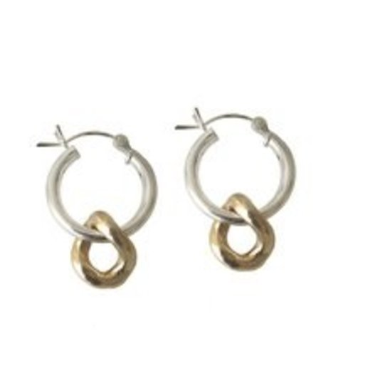 Laura Lombardi Mini Onda Charm Earrings