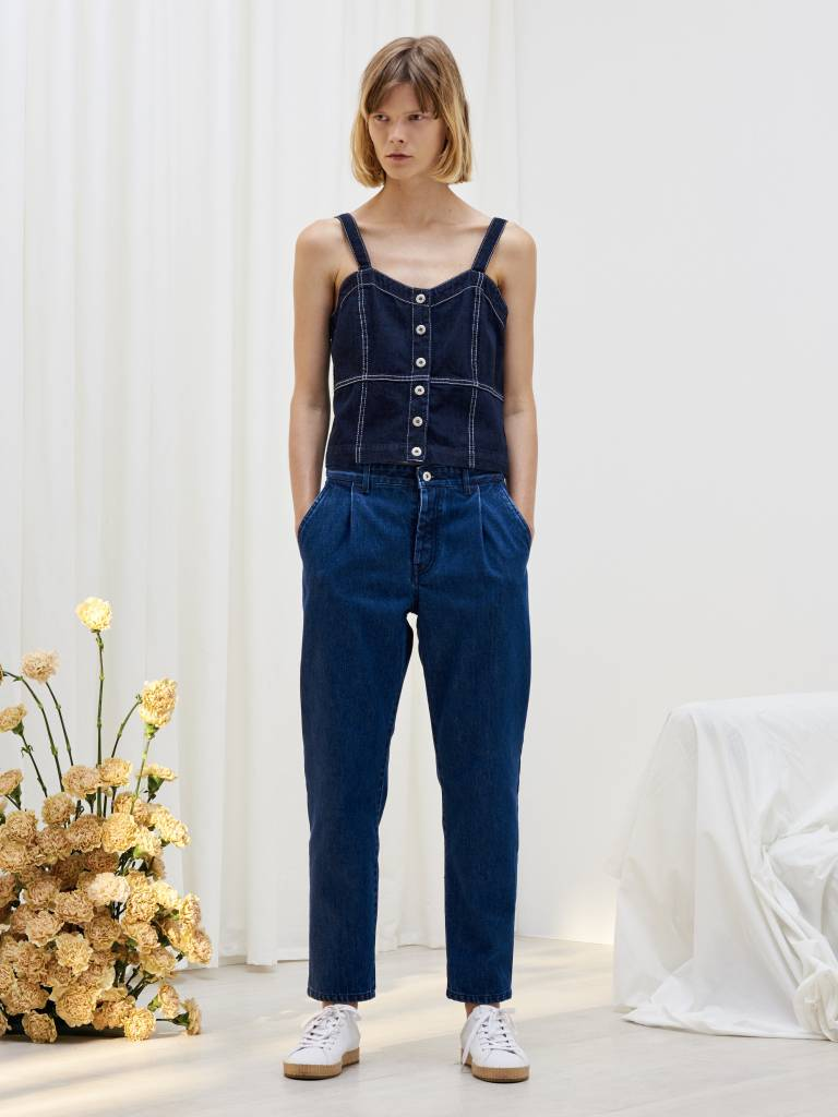 Kowtow Turnaround Pants, Classic Denim