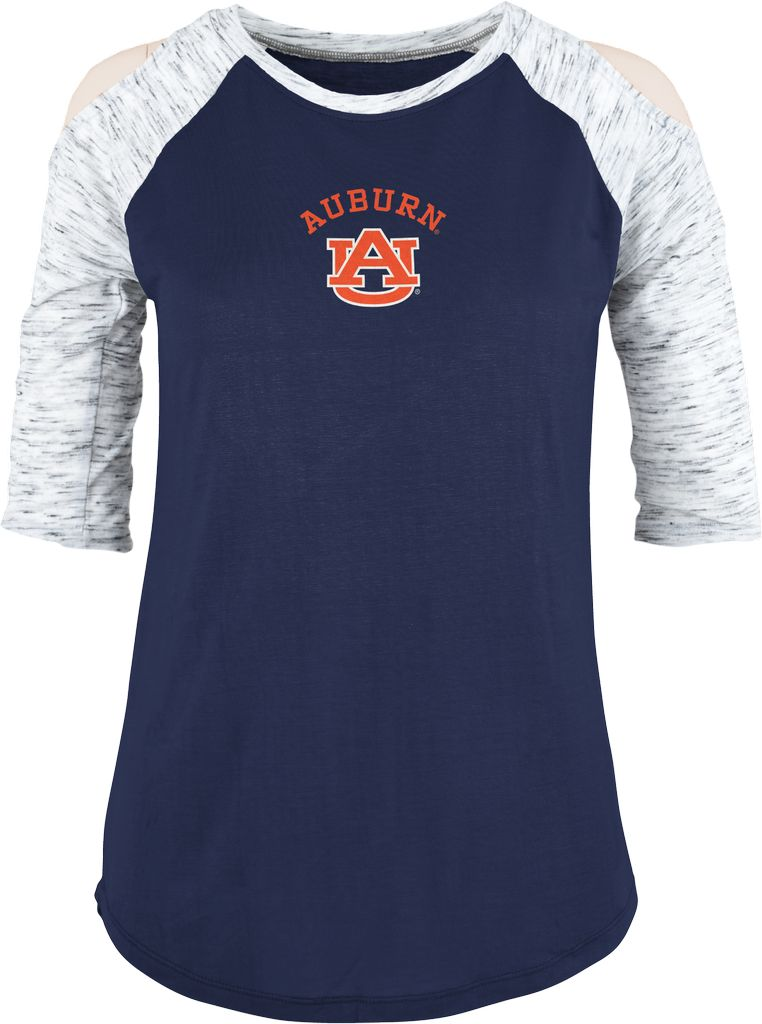 Arch Auburn AU Raglan Ladies Cold Shoulder Top