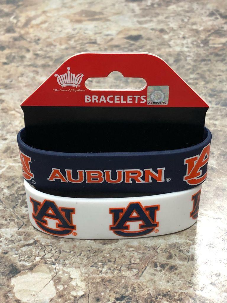 2 Pack Auburn AU Bracelets