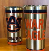 Tervis AU Tigers 20 oz. Stainless Tumbler with orange accents