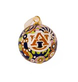 Navy Psychedelic Ornament