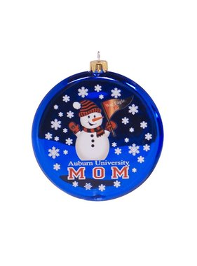 AU Mom Snowman Ornament