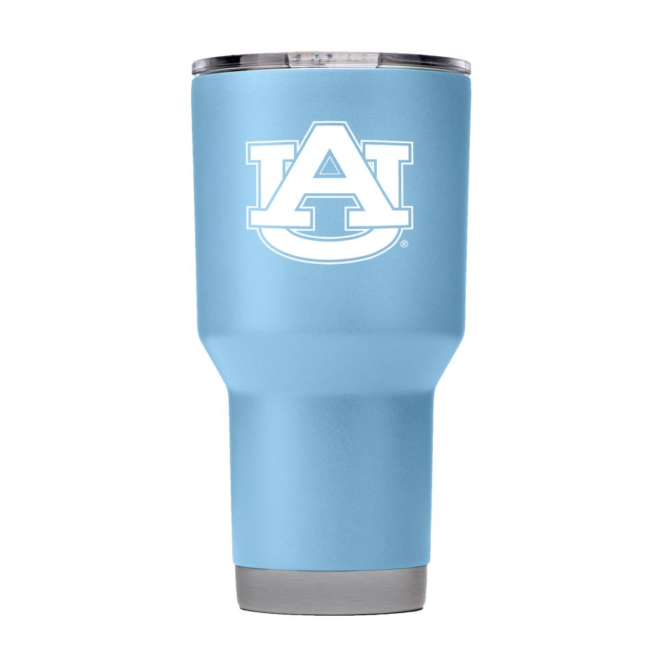 AU Light Blue 30 oz. Tumbler with Lid