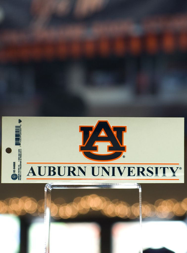 AU Bar Auburn University Bar Decal