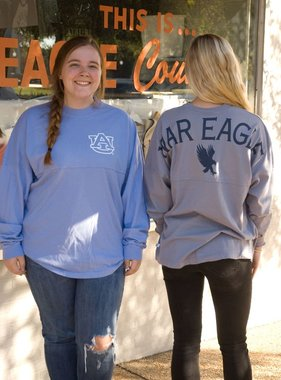 AU War Eagle with Eagle on Back Spirit Jersey