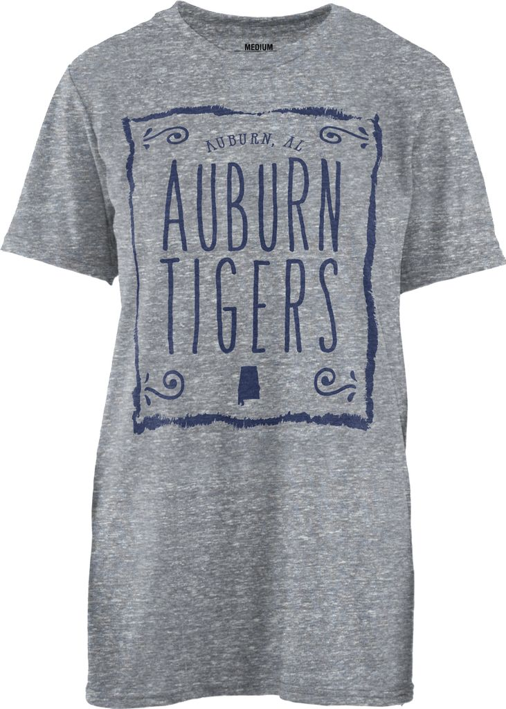 Auburn AL Auburn Tigers Heathered T-Shirt