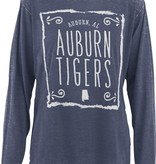 Auburn AL Auburn Tigers Heathered Long Sleeve T-Shirt