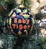 Baby Tiger Navy Ornament