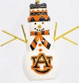 Auburn Snowman Ornament