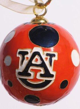 Auburn Polka Dots