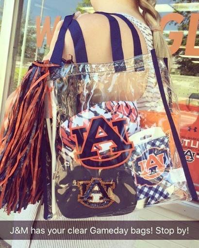 AU Clear Stadium Tote Bag