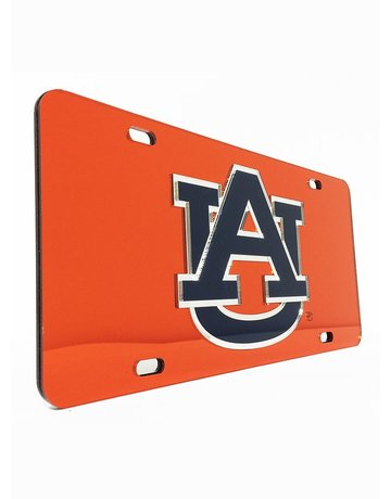 AU Mirror Plastic License Plate
