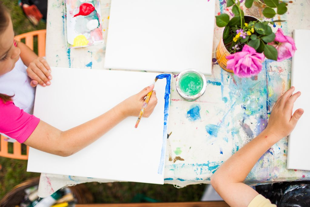 Kristin Daniel Kids Art Class 2019, June 3-7, Nature is All Around Us