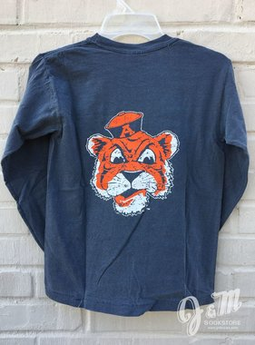 MV Sport Vintage Aubie Youth Long Sleeve T-Shirt