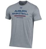 Under Armour Auburn Basketball Three Bar War Eagle Charged Cotton T-Shirt