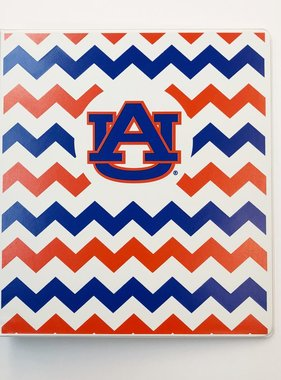 AU Chevron Binder, 1""