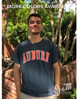 MV Sport Block Auburn Arch T-Shirt