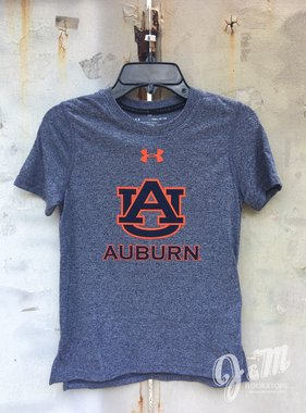 Under Armour AU Auburn Youth Threadborne T-Shirt