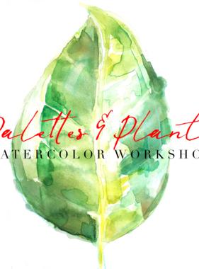 2019 Adult Art Class - Lauren Duncan - June 20th Palettes & Plants