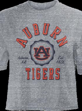 Auburn AU Tigers Bishop Crop Top