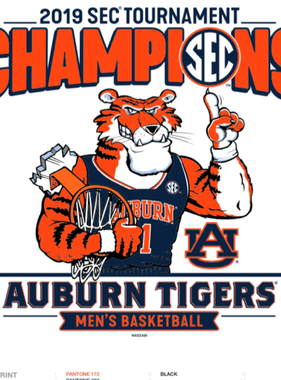 2019 SEC Tournament Champions Youth T-Shirt