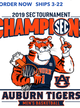 2019 SEC Tournament Champions T-Shirt