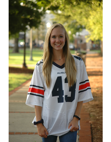 Under Armour #43 Sideline Football Jersey