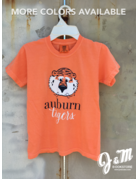 MV Sport Aubie Auburn Script Tigers Youth T-Shirt