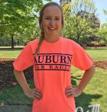 MV Sport Auburn War Eagle Three Bar Design T-Shirt